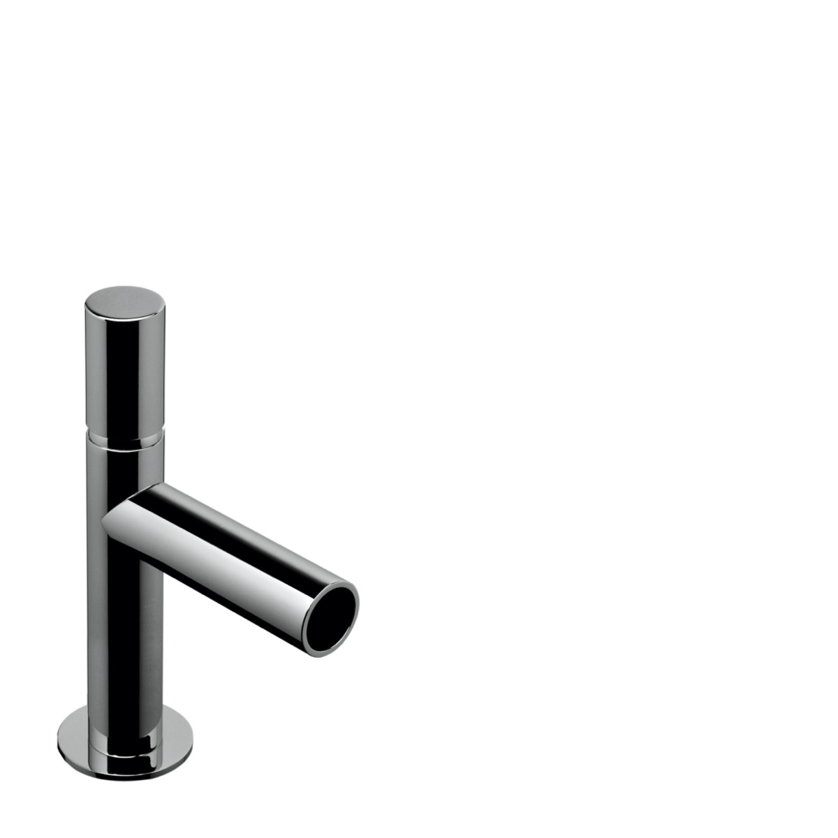 Single lever basin mixer, height 120 mm with waste